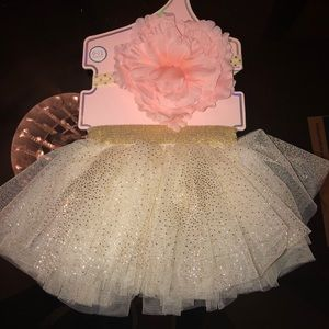 Other - 🌸 Baby headband and skirt